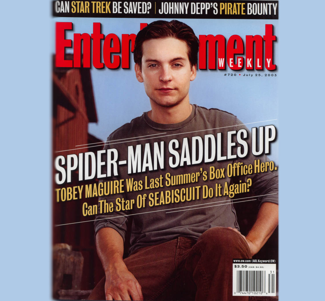 Tobey Maguire at Runyon