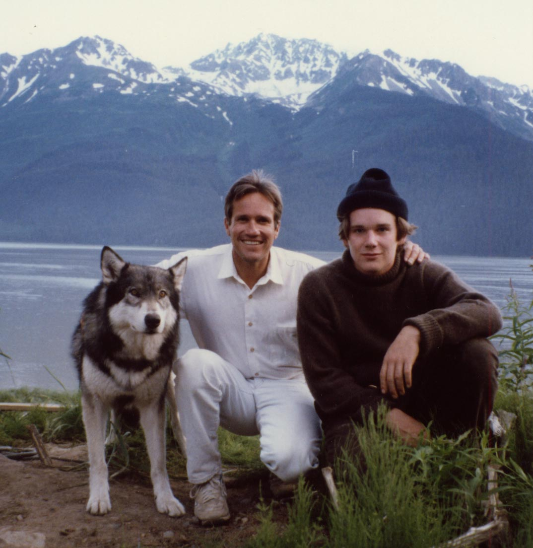 Jed and Ethan Hawk in Alaska