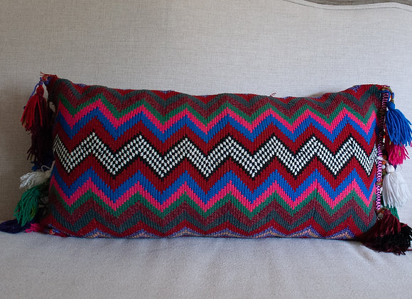 ZigZag Pillow - red