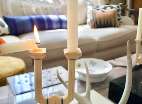 TIPS FOR TALL CANDLES