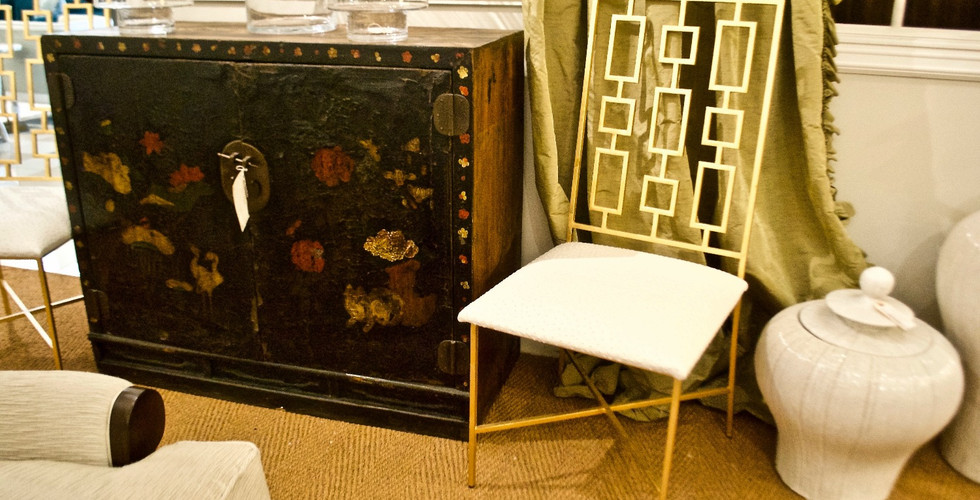 chinoiserie and gold