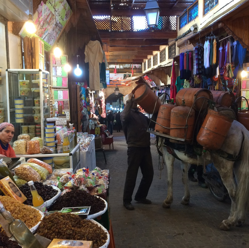 Fez hustle and bustle