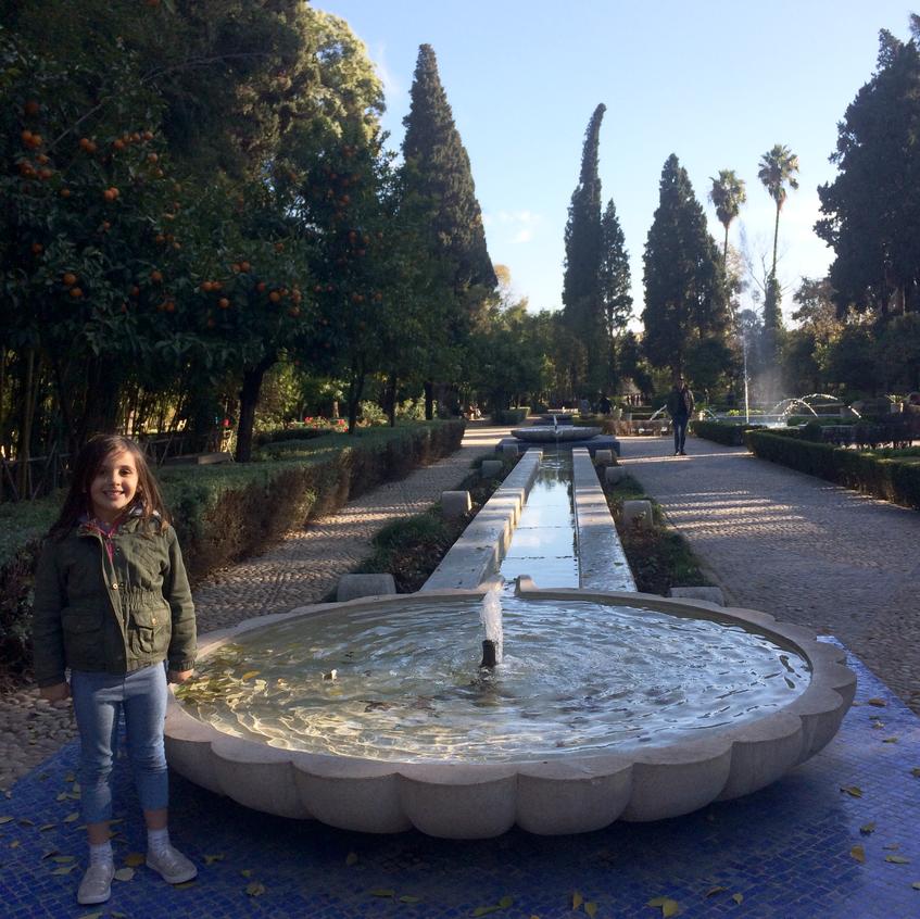 royal garden Fez