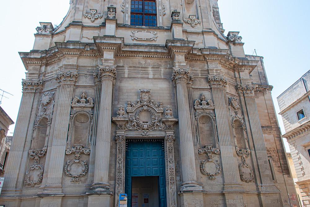 Chiesa di Santa Chiara, Lecce Puglia Italy