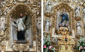 Church of Santa Chiara, Cartapesta Decorations, Lecce