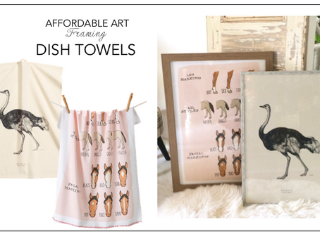 AFFORDABLE ART-DISH TOWELS