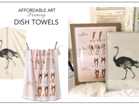 AFFORDABLE ART-DISH TOWELS