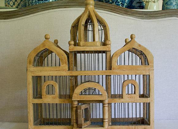 Wood Birdcage