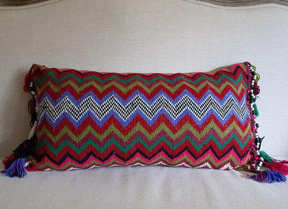 ZigZag Pillow - lavender