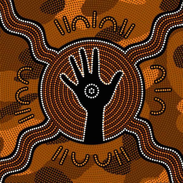 aboriginal-art-hand-painting