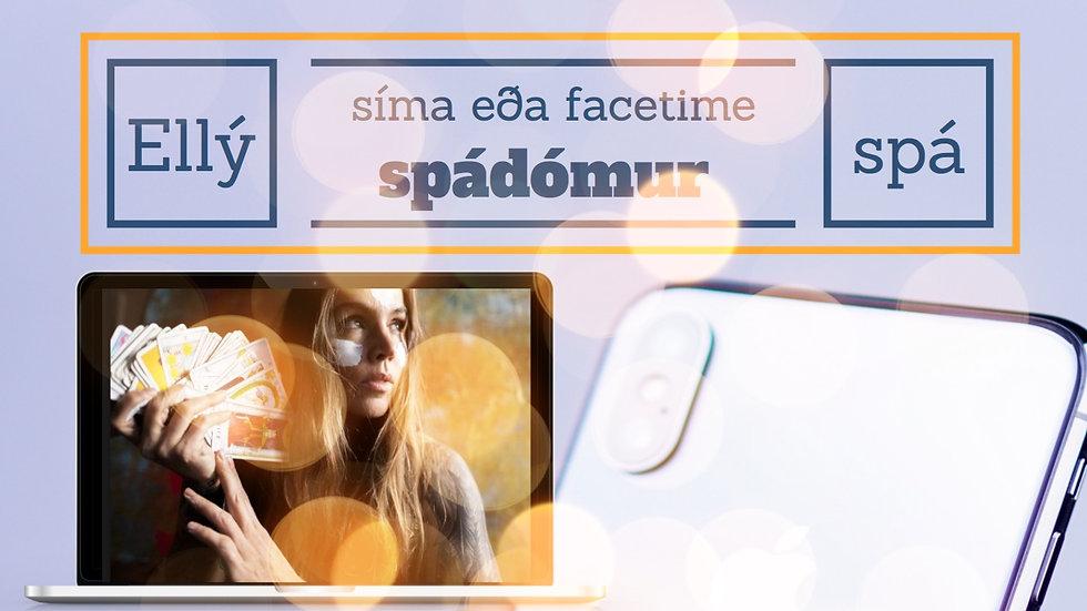 Framtíðarspá (sími eða Face-time) frá Ellý