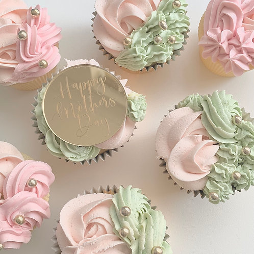 Box of 3 Flavours of Mother's Day Cupcakes