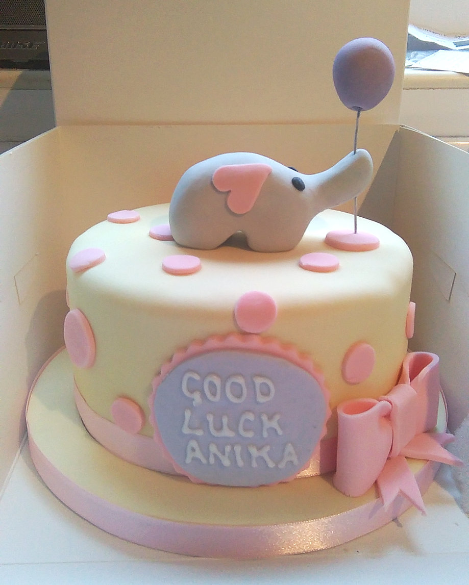 Baby Shower Cakes London ~ All shapes slices cake co