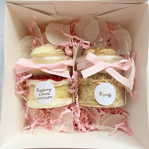 Gift Box of 2 Jar Cakes