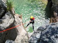 Canyoning - Rafting - Via ferrata