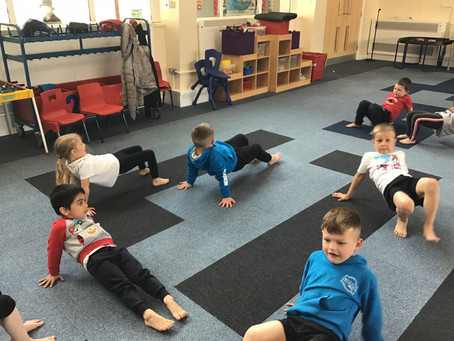Fitness Friday for Reception 3😀😀