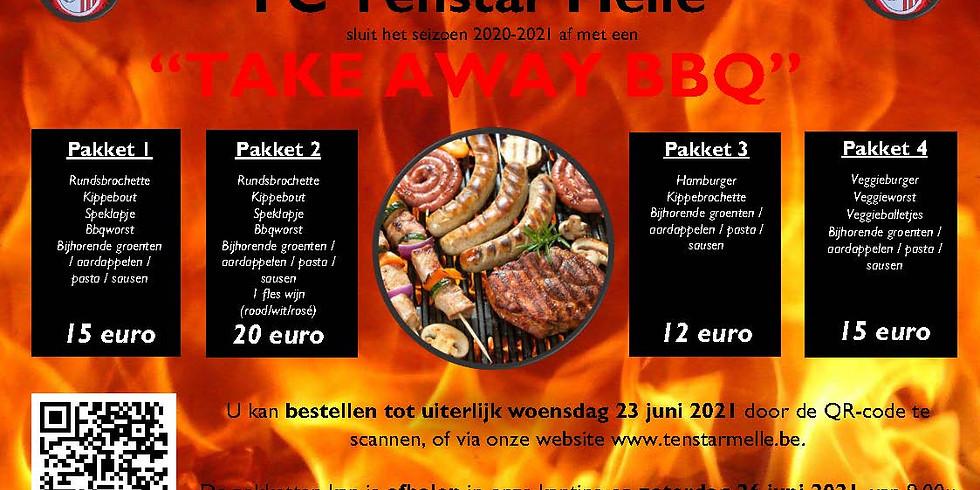 Take Away BBQ @ Tenstar      -      26 juni 2021