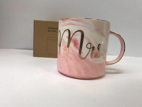 Šalica Mrs roza -6062