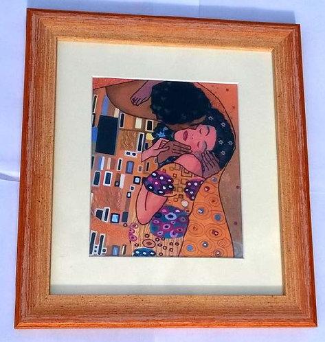 Slika Poljubac u okviru