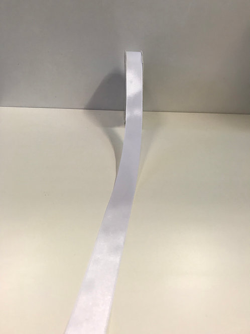 Saten traka bijela 25 mm x 50 m