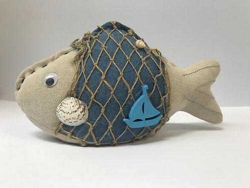Riba - držač za vrata