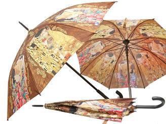 Kišobran Klimt -Poljubac i Obitelj