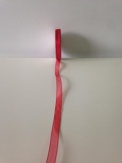 Traka organza 1 cm x 25 m