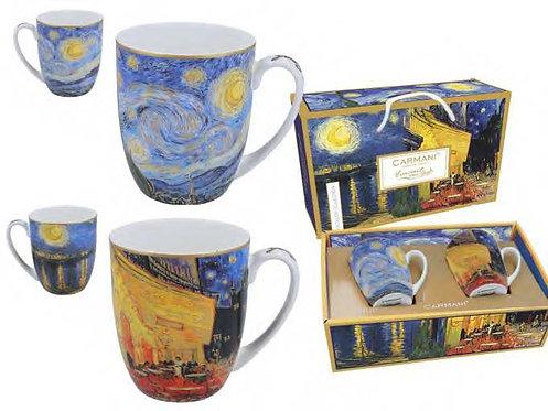 Van Gogh šalice u kutiji sa ručkom