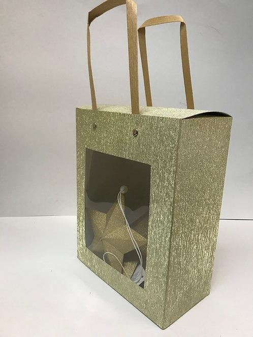 Kutija sa ručkom zlatna 6 kom