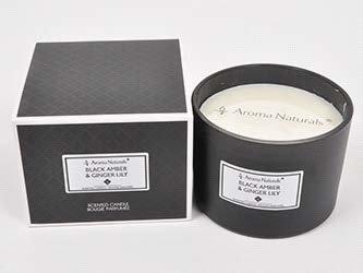 Mirisna svijeća- Crni jantar i đumbir ljiljan