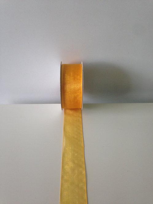 Traka organdi 25 mm x 38 m - narančasta