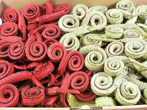Palmine spirale - dvije boje