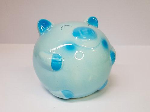 Kasica svinja mala - plava