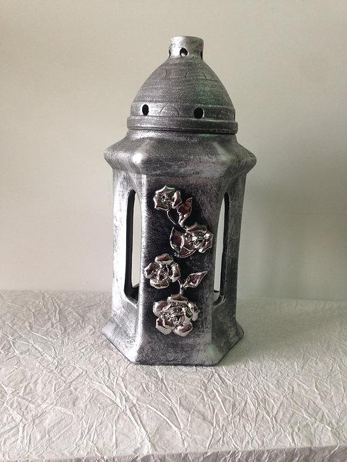 Grobni lampion srebrni