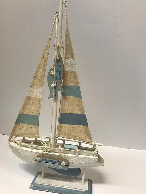 Ukrasni brod 24x5x41 cm