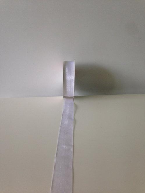 Traka organza 25 mm x 38 m - bijela