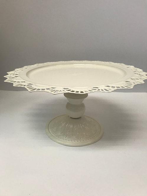 Pladanj metalni 34x16 cm -bijeli