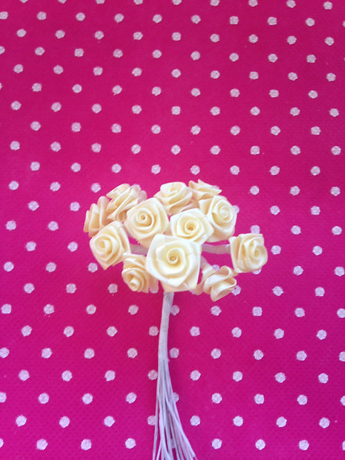 Male ružice basic - bež