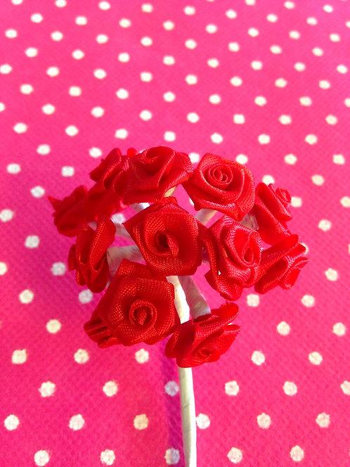 Basic ružice male - crvene
