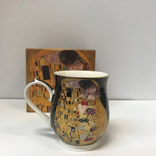 Šalica Klimt -crna