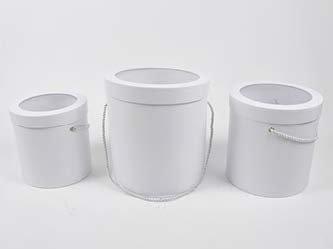Set tri kutije sa prozirnim poklopcem