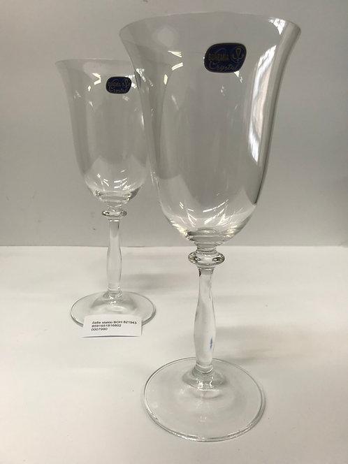 Set kristalnih čaša za vino