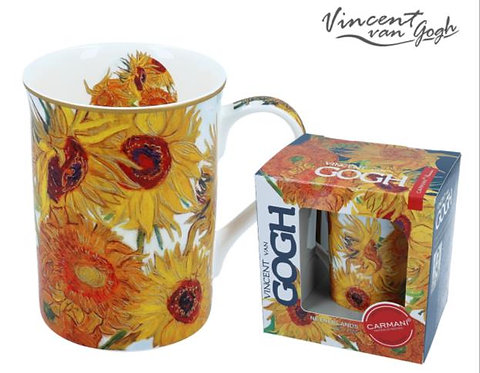 Van Gogh porculan šalica Suncokreti