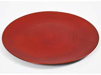 Tanjur crveni plastični