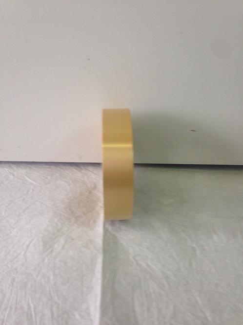 Traka pastel zlatna - 3 cm