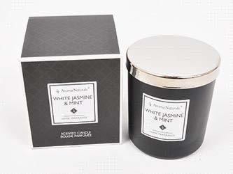 Mirisna svijeća- Bijeli jasmin i menta