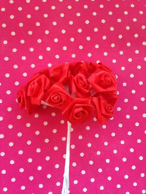 Basic velike ružice - crvene