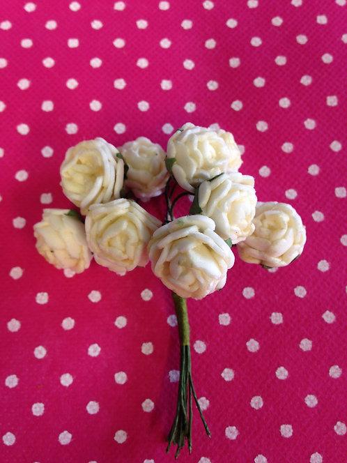Bijele ružice velike