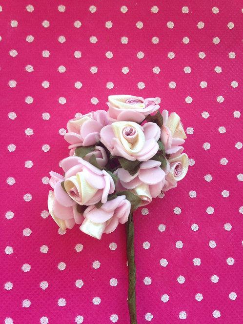 Ružice dvobojne roze