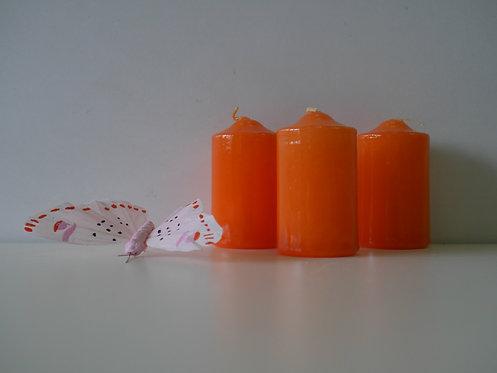Top svijeća 40 x 70 - narančasta - 24 kom